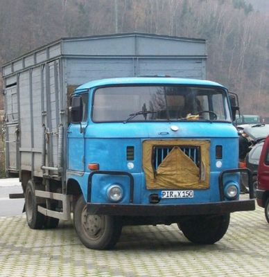 W50L Viehtransporter