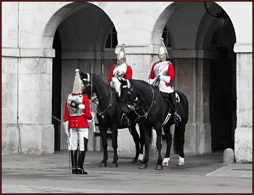 Wachablösung am Horse Guards