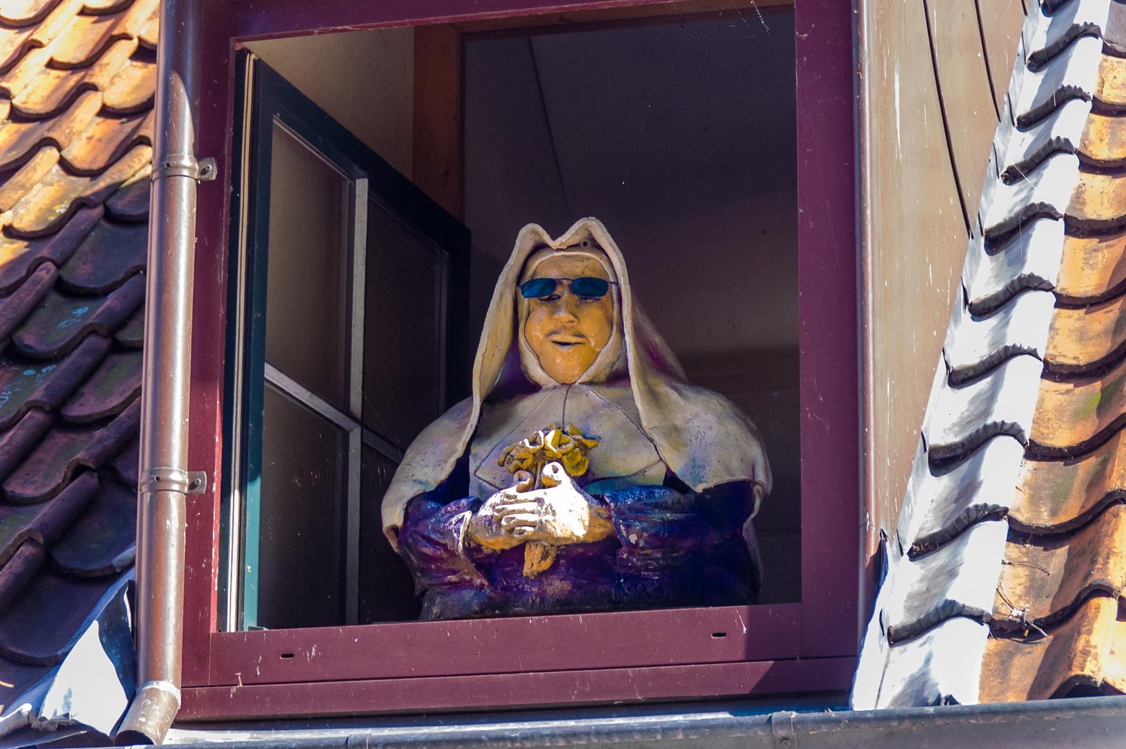 Wachablösung - Nonne im Beginenkloster/Brügge