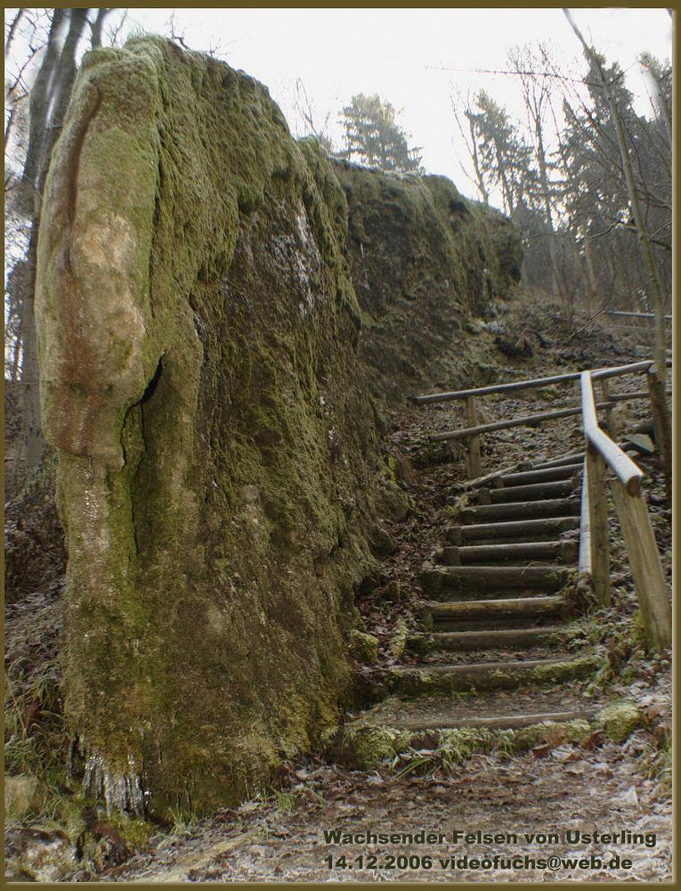 Wachsender Felsen
