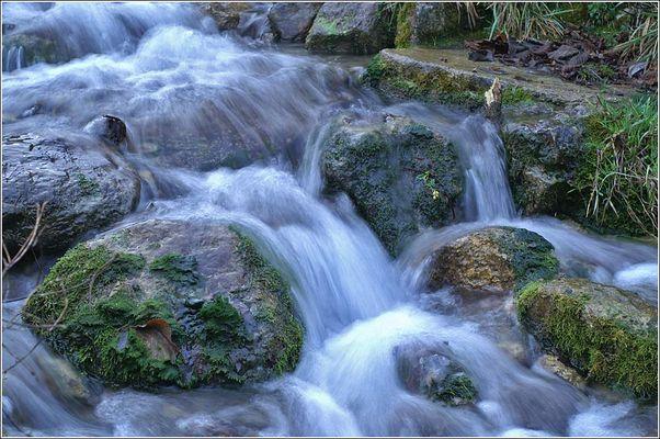 Wachsender Wasserfall.... II