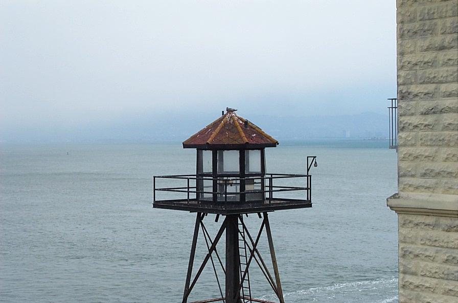 Wachtturm auf Alcatraz