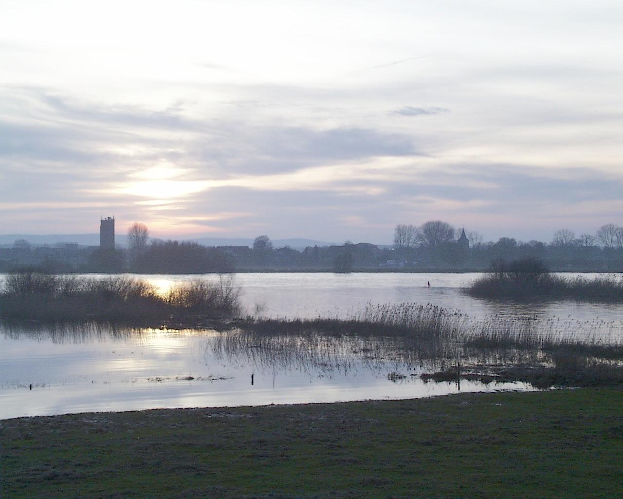 Wachturm an der Elbe