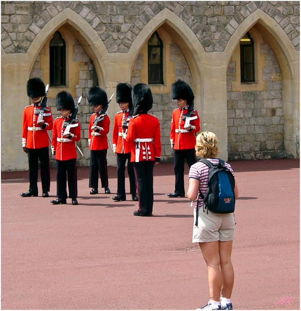 Wachwechsel auf Windsor Castle