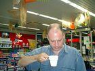 wadd eine läcka tasse kaffeee