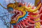 Wächter am chinesischen Tempel - Doi Inthanon/Nordthailand
