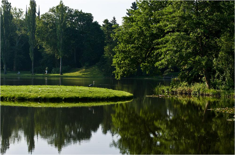Wächter am Teich