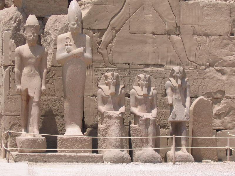 Wächter des Karnak Tempels