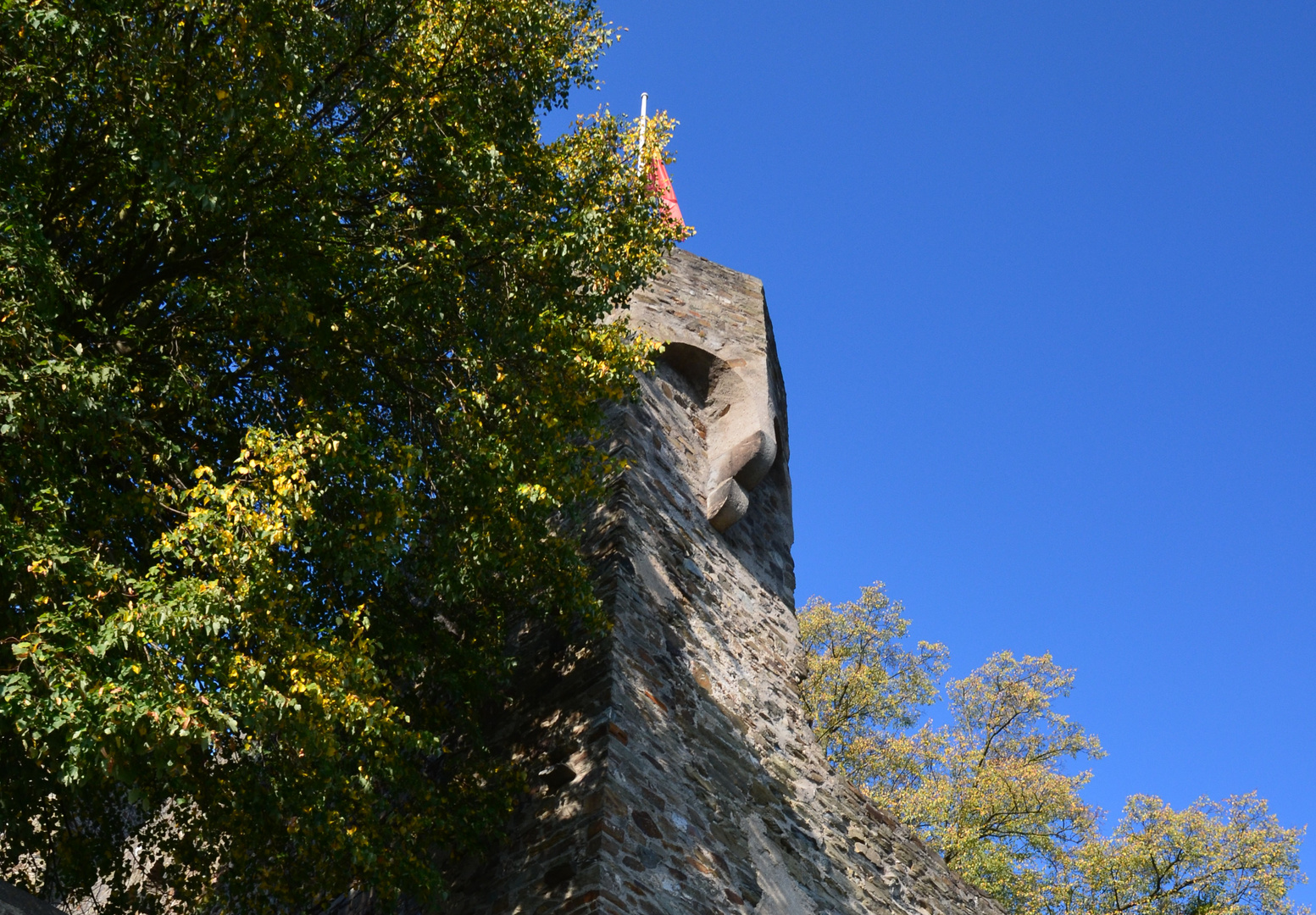 Wächter im Turm oder Turm als Wächter
