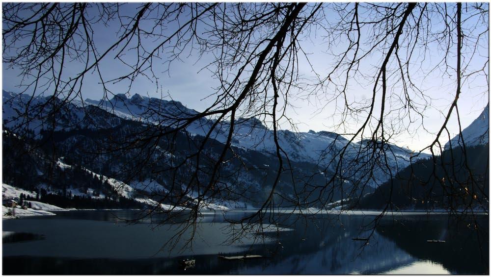 Wägitalersee im Winter