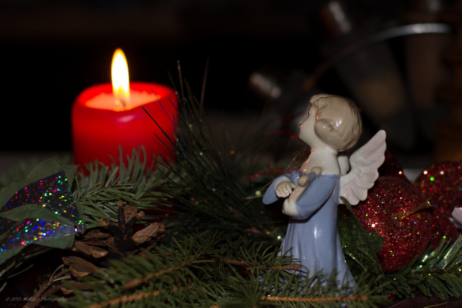 Wärmendes Licht an Weihnachten