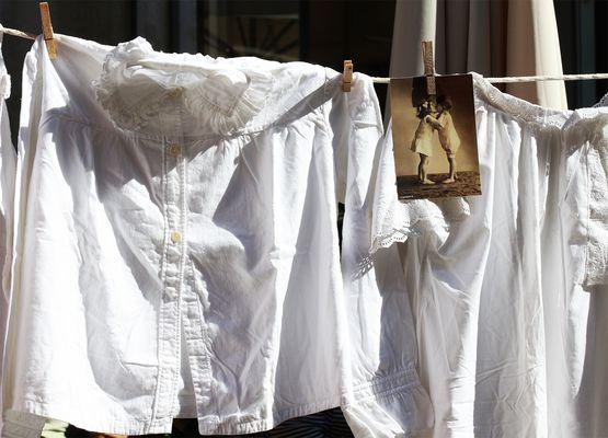 Wäsche aus Grosseltern's Zeiten