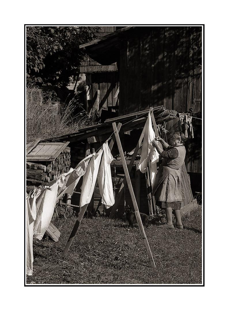 Wäsche,