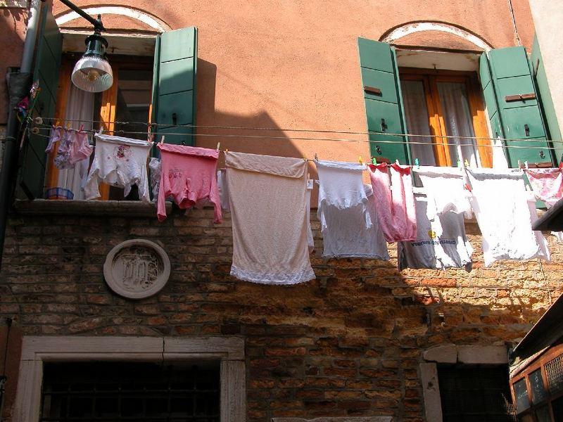 Wäsche in Venedig