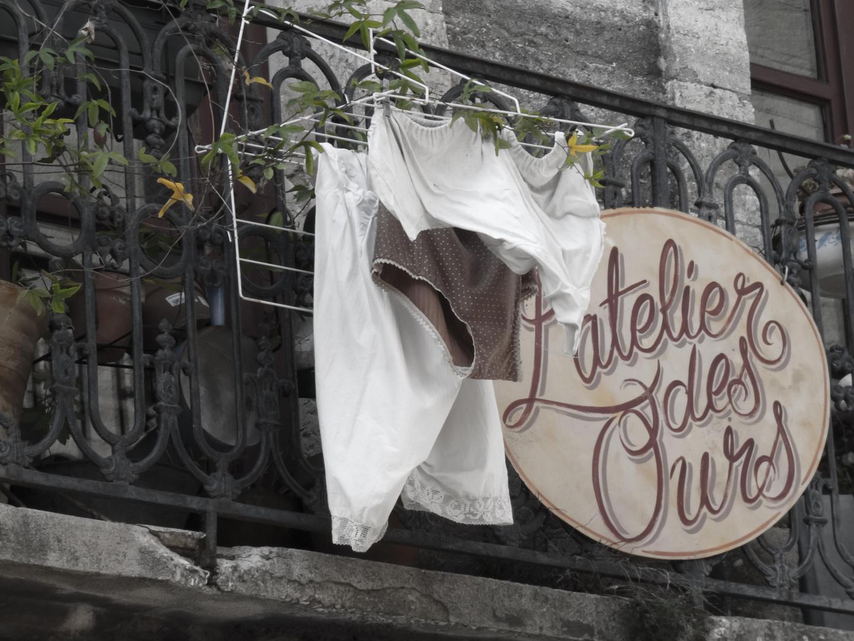 Wäsche Südfrankreich