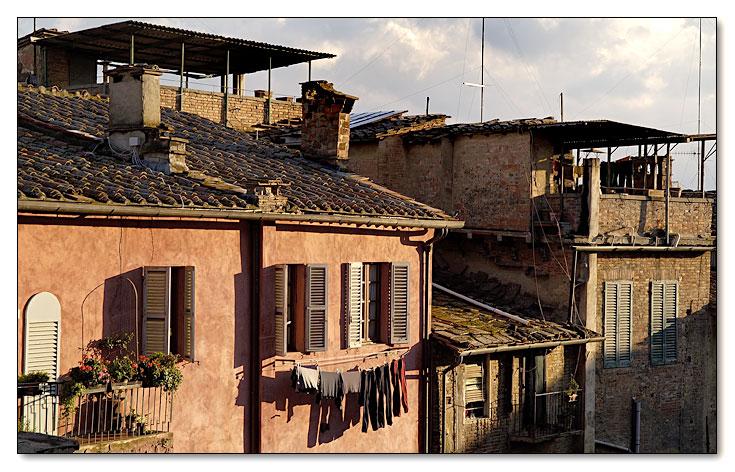Wäsche trocknen auf italienische Art