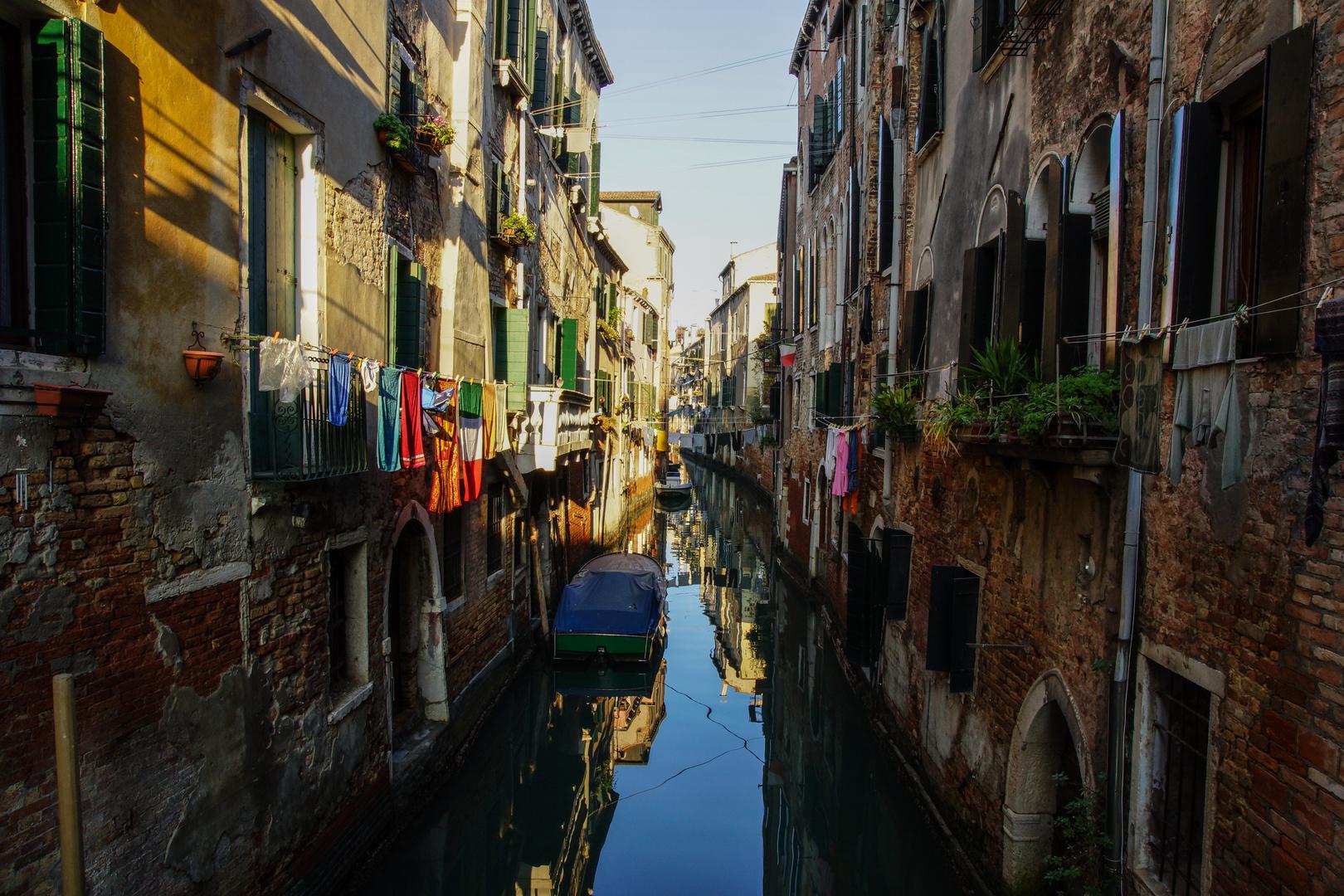 Wäsche trocknen auf Venezianisch