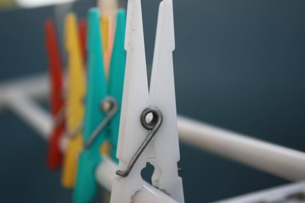 Wäscheklammern -
