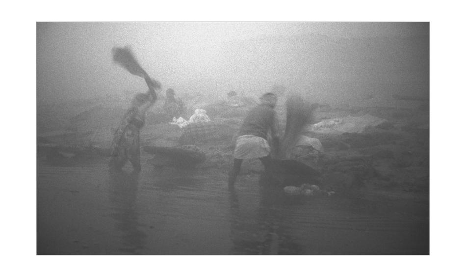 Wäscher am Ganges