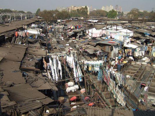 Wäscherei in Mumbai