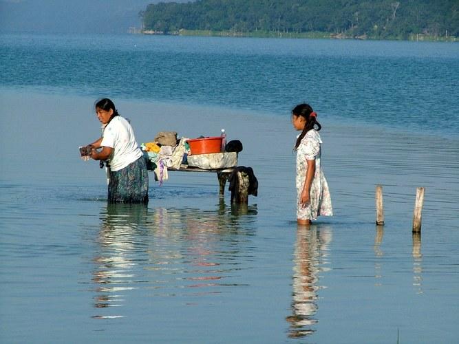 Wäscherinnen in Guatemala