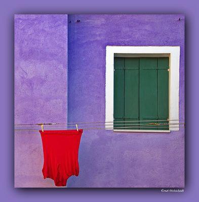Wäschetag auf Burano