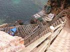 waghalsiger Fischerboot - Klippen - Landeplatz: wie in alten Zeiten