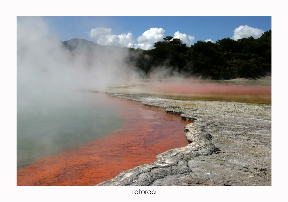 Wai-O-Tapu Volcanic area