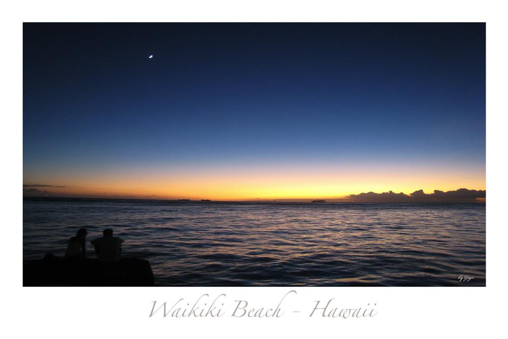 Waikiki Beach, einfach Traumhaft