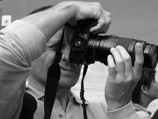 waiking in rome - il ghigno del Fotografo