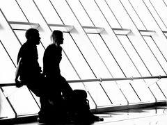 Waiting for boarding... toward a better world