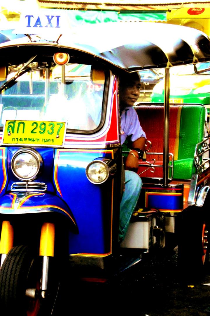 waiting for passenger