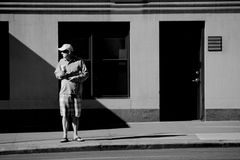 """waiting for the crowd"", manhattan, n.y."