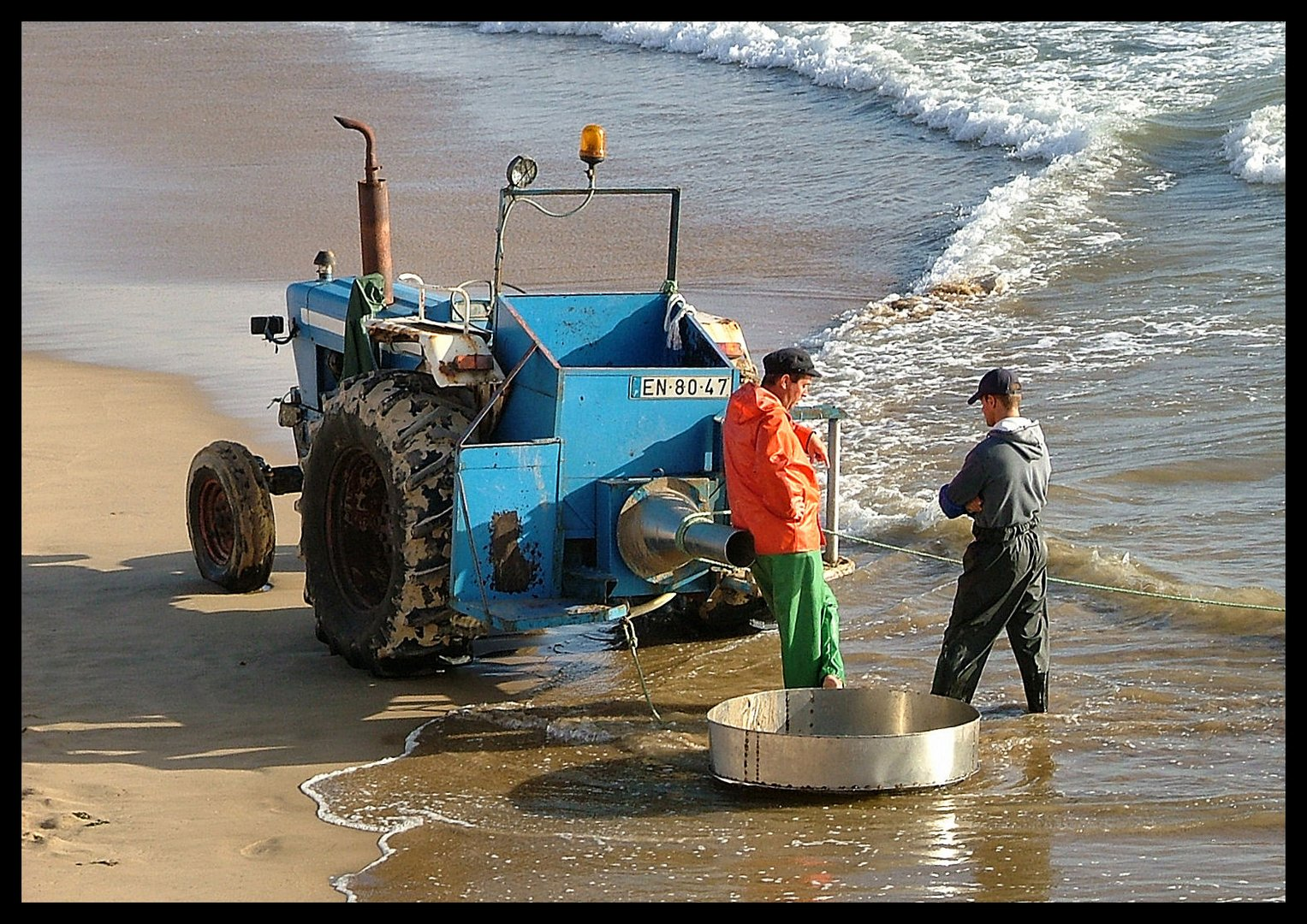 Waiting for the fishing boat
