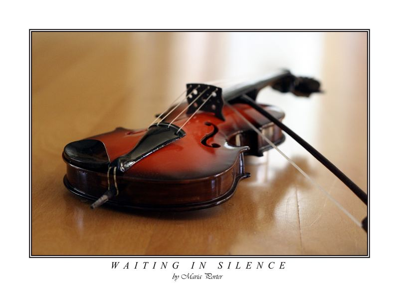 Waiting in silence