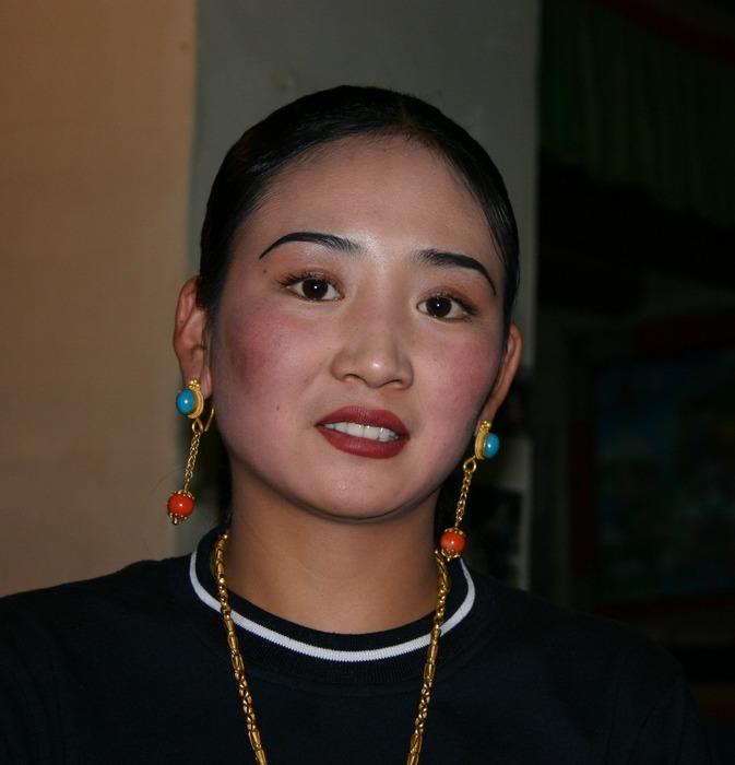 Waitress in Xian