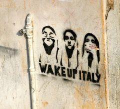 Wake up, Italy!