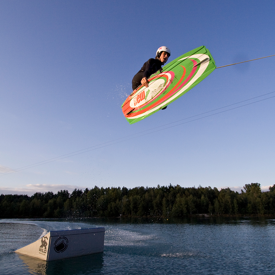 wakeboarden on more time