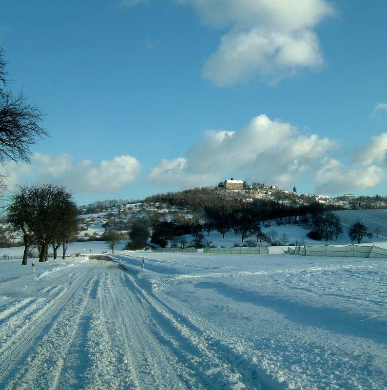 Waldenburg im Winter