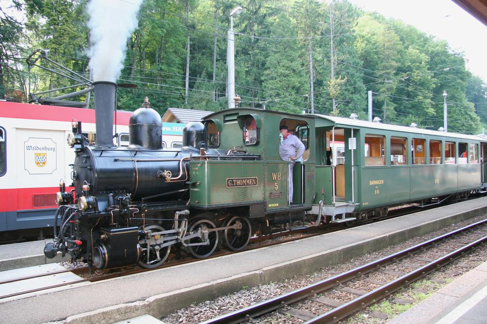 Waldenburger Bahn - Die schmalste Schmalspurbahn der Schweiz 1