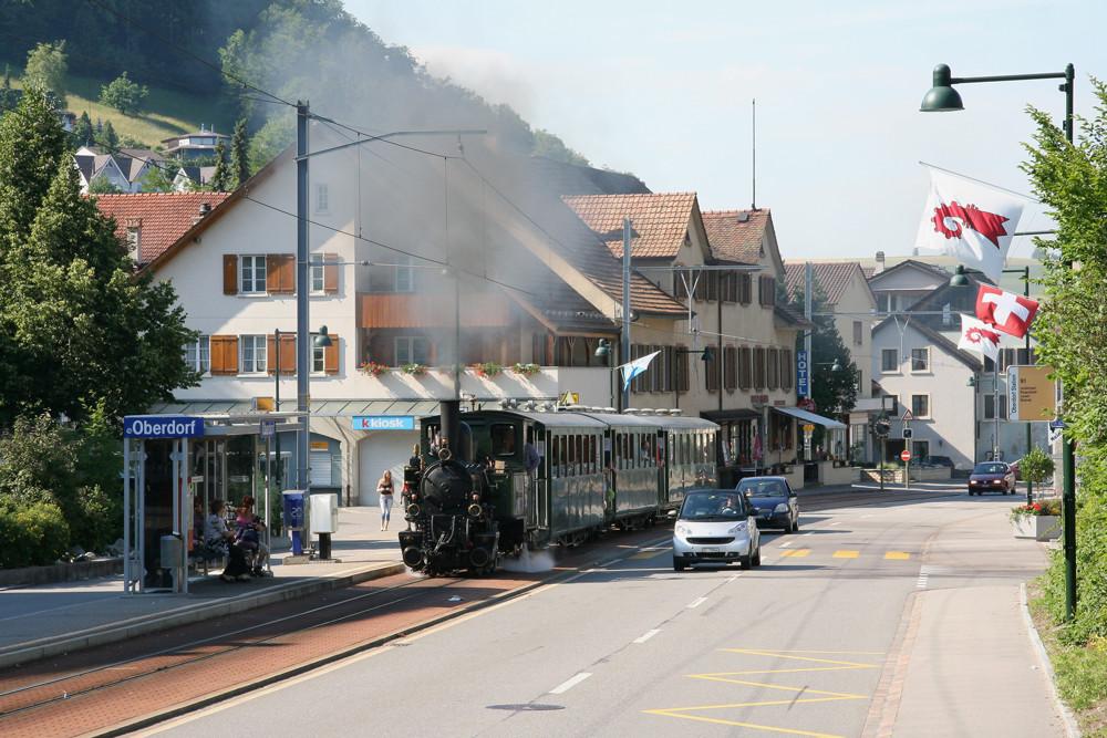 Waldenburger Bahn - Die schmalste Schmalspurbahn der Schweiz