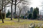 Waldfriedhof an Karfreitag