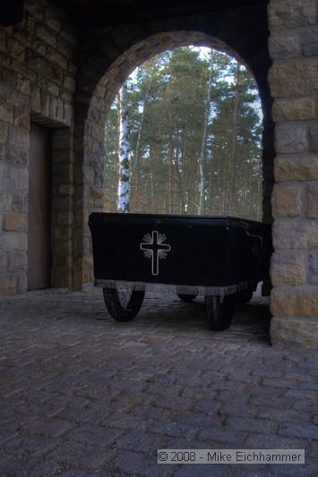 Waldfriedhof Wendelstein - Letzte Fahrt