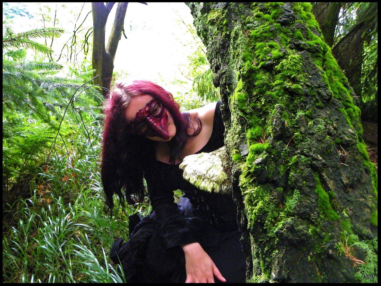 Waldgestalt auf der Suche