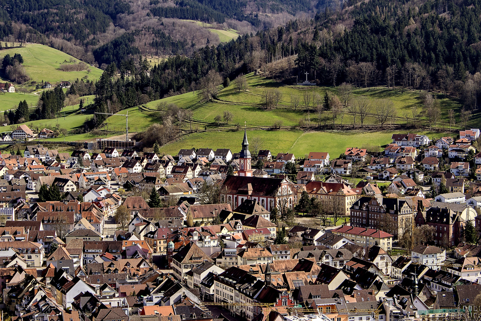 Waldkirch im Elztal - Stadtmitte