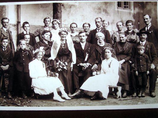 Waldler-Hochzeit 1919