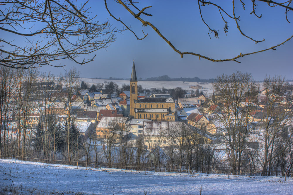 Waldmühlbach im Winter 1