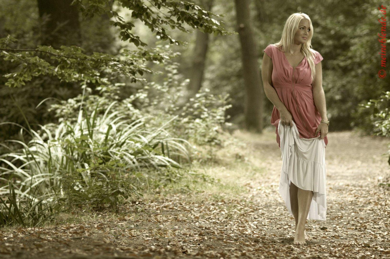 Waldspaziergang mit Susi....
