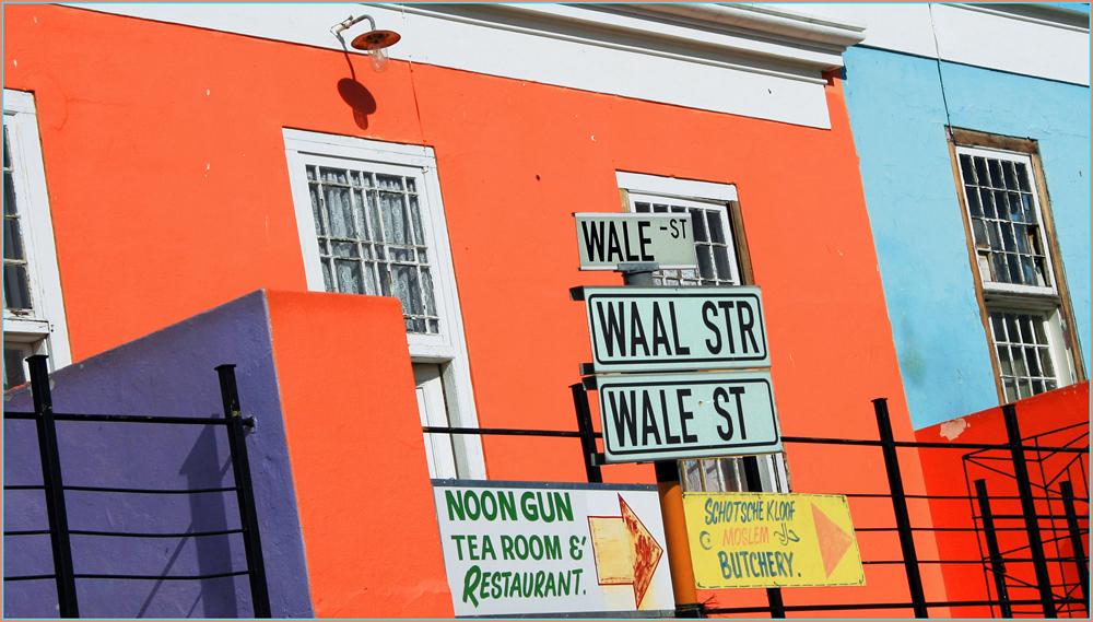 WALE-oder-WAAL in Bo Kaap (Kapstadt)