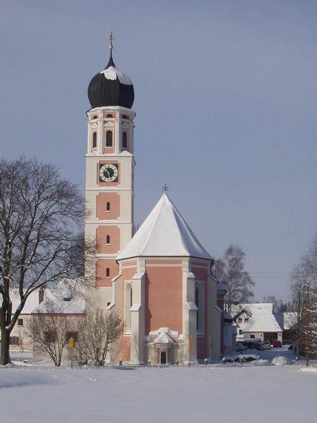 Walfahrtskirche in Mussenhausen